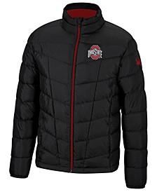 Spyder Men's Ohio State Buckeyes Pelmo Puffer Jacket