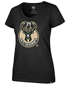 Women's Giannis Antetokounmpo Milwaukee Bucks Player Club T-Shirt