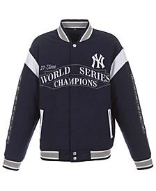 Men's New York Yankees Melton Reversible Commemorative Jacket