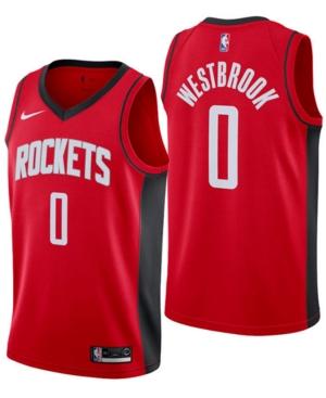 Nike Men's Russell Westbrook Houston Rockets Icon Swingman Jersey