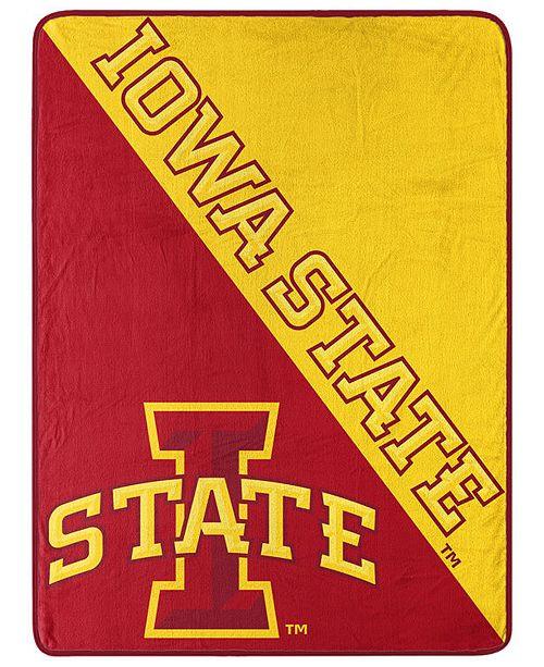 Northwest Company Iowa State Cyclones Micro Raschel Halftone Blanket