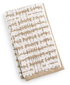 """Hotel Collection Ultimate MicroCotton Mosaic 16"""" x 30"""" Hand Towel, Created for Macy's"""