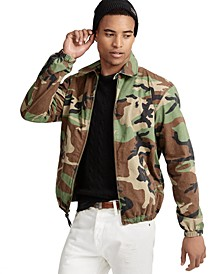 Men's Bayport Camouflage Cotton Windbreaker