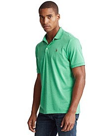Men's Custom Slim Fit Interlock Polo Shirt