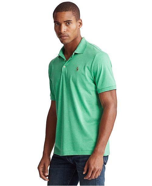Polo Ralph Lauren Men's Custom Slim Fit Interlock Polo Shirt