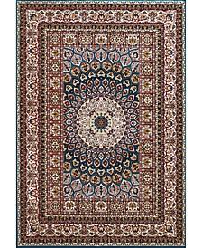 """Antiquities Jaipur 1900 01662 58 Multi 5'3"""" x 7'2"""" Area Rug"""
