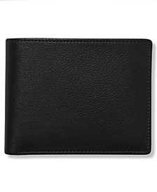 Portfolio Men's Leather Park Avenue Bifold Wallet