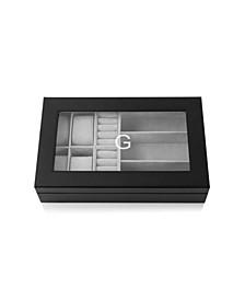 Personalized Vegan Leather Valet Box