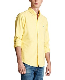 Men's Classic Fit Garment-Dyed Oxford Shirt
