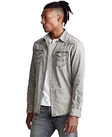 Men's Classic Fit Western Shirt