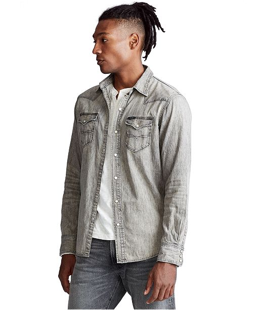 Polo Ralph Lauren Men's Classic Fit Western Shirt