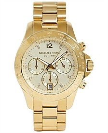 Women's Layton Gold-Tone Stainless Steel Bracelet Watch 38mm MK5531