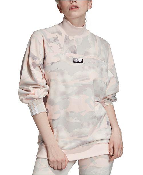 Cotton Camo Sweatshirt