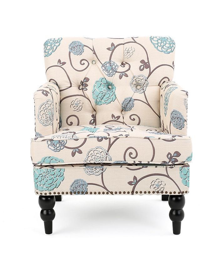 Noble House - Harrison Accent Chair, Quick Ship