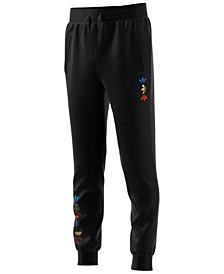Big Boys Logo-Print Fleece Jogger Pants