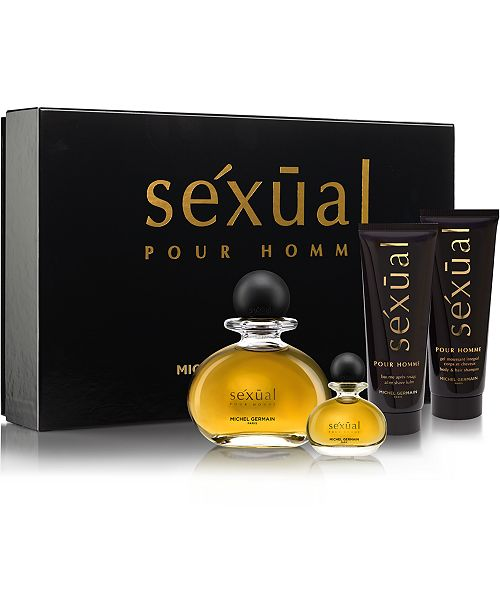 Michel Germain Men's 4-Pc. sexual pour homme Gift Set
