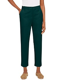 Slouchy Ankle Pants, Regular & Petite Sizes