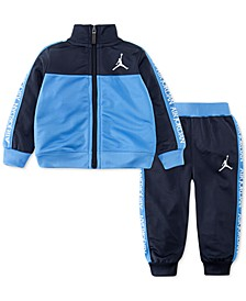 Little Boys Air Jordan 2-Pc. Colorblocked Track Suit Set