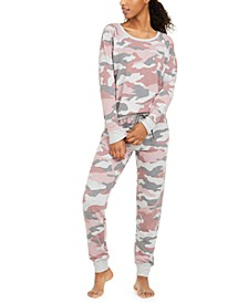 Printed Knit Pajamas Set, Created for Macy's