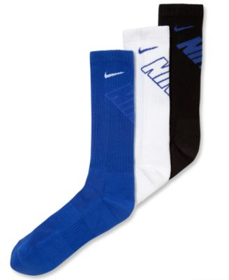Image of Nike Boys' or Little Boys' 3-Pack Cushioned Crew Socks