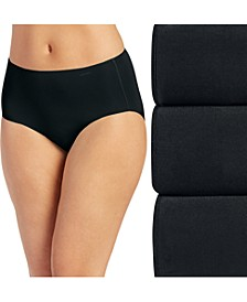 Women's 3-Pk. No Panty Line Promise® Cotton Hipster Underwear 1772