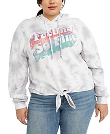Trendy Plus Size So Fine Fleece Hoodie