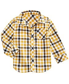 Baby Boys Plaid Shirt, Created for Macy's