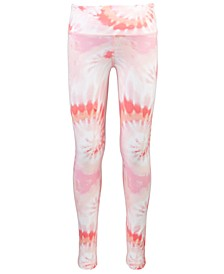 Toddler Girls Tie-Dye Foldover Leggings, Created for Macy's