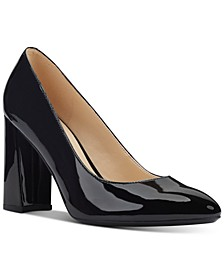 Arya Block-Heel Pumps