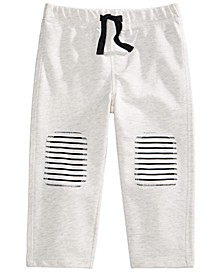Toddler Boys Striped-Knee-Patch Pants, Created For Macy's