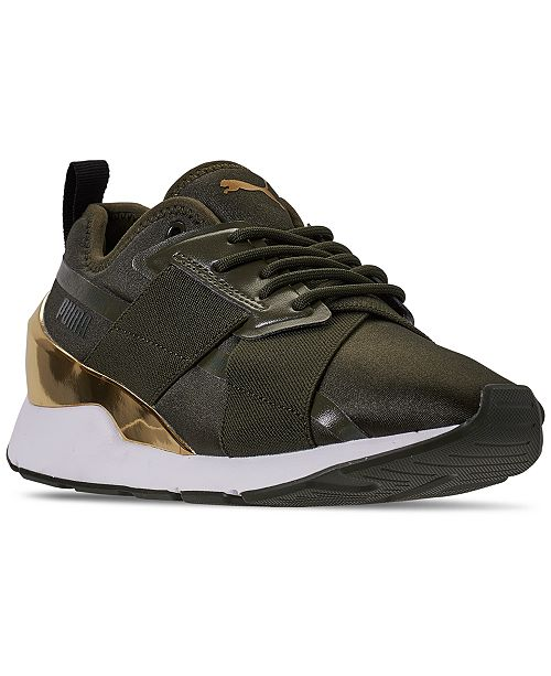Puma Women's Muse X-2 Casual Sneakers from Finish Line