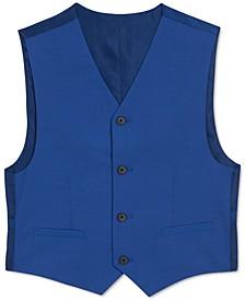Big Boys Solid Textured Weave Vest