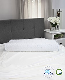 Cold Touch Contour Gel-Infused Memory Foam Pillow - King