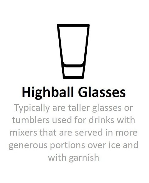Hotel Collection Highball Glasses with Gray Accent, Set of 4, Created for Macy's & Reviews - Glassware - Dining - Macy's