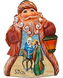 Tiny Tale Santa Nativity Figurine