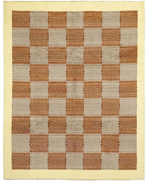 "Timeless Rug Designs CLOSEOUT! One of a Kind OOAK156 Tan 8'1"" x 10'2"" Area Rug"