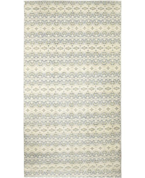 "Timeless Rug Designs CLOSEOUT! One of a Kind OOAK343 Ivory 11'10"" x 23'7"" Area Rug"