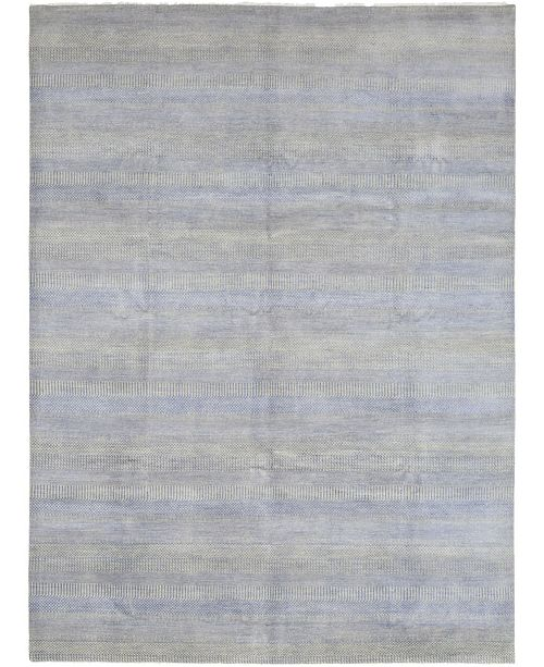"Timeless Rug Designs CLOSEOUT! One of a Kind OOAK355 Gray 9'1"" x 12'3"" Area Rug"