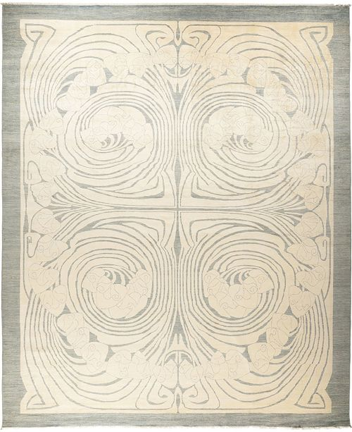 """Timeless Rug Designs CLOSEOUT! One of a Kind OOAK677 Ivory 11'10"""" x 14'5"""" Area Rug"""