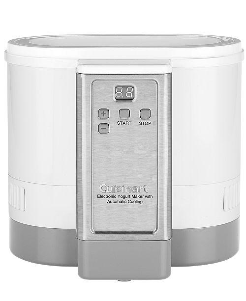 Cuisinart CYM100 Automatic Cooling Electronic Yogurt Maker