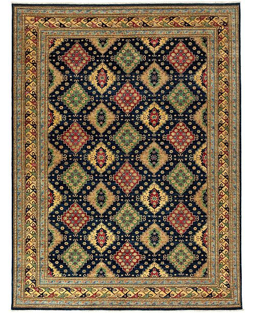 """Timeless Rug Designs One of a Kind OOAK3359 Flax 9'2"""" x 12'1"""" Area Rug"""