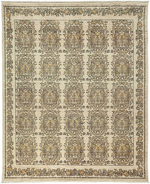 "Timeless Rug Designs CLOSEOUT! One of a Kind OOAK3394 Bone 8'3"" x 10'1"" Area Rug"