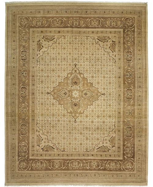 "Timeless Rug Designs CLOSEOUT! One of a Kind OOAK3289 Hazelnut 8'3"" x 10'5"" Area Rug"