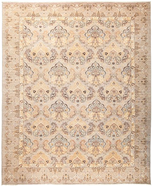 """Timeless Rug Designs CLOSEOUT! One of a Kind OOAK2916 Cream 8'1"""" x 9'10"""" Area Rug"""