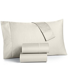 Extra Deep Pocket California King 4-Pc Sheet Set, 550 Thread Count 100% Supima Cotton , Created for Macy's