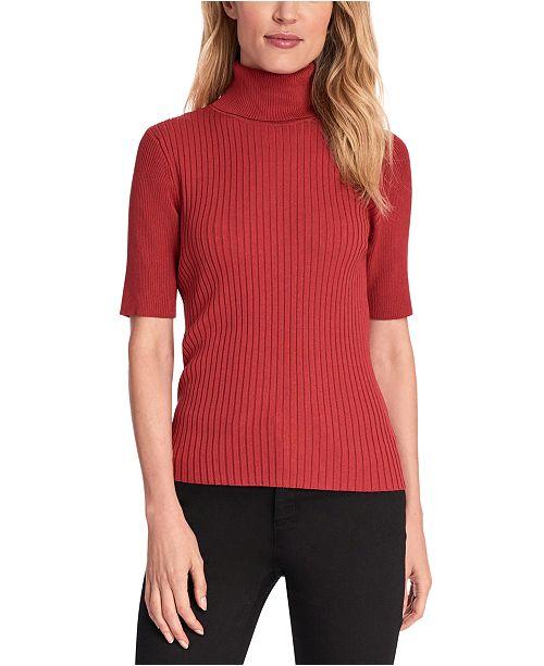 Jones New York Ribbed Turtleneck Sweater