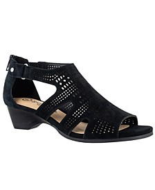 Quinby Wedge Sandals