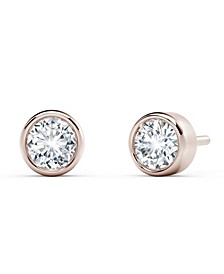 Tribute™ Collection Diamond (1/3 ct. t.w.)Studs in 18k Yellow, White and Rose Gold