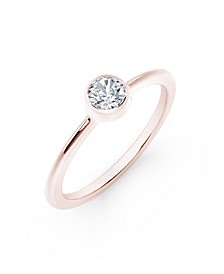 Tribute™ Collection Diamond (1/6 ct. t.w.) Ring in 18k Yellow, White and Rose Gold