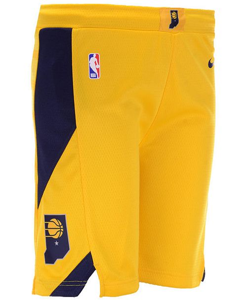 Nike Big Boys Indiana Pacers Statement Swingman Shorts